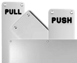 Kick Plates And Push Plates