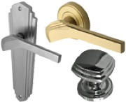 Art Deco Style Door Knobs & Door Handles