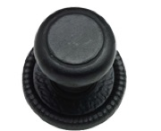 Black Antique Centre Door Knobs
