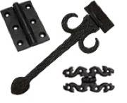 Black Antique Hinges