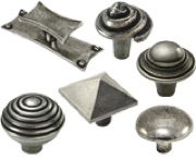 FINESSE PEWTER CUPBOARD KNOBS