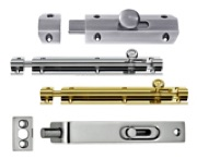 Flush Bolts, Barrel Bolts And Door Bolts