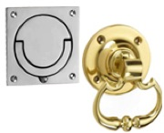 Flush & Standard Drop Ring Door Handles