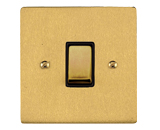 Satin Brass - Elite Flat Plate