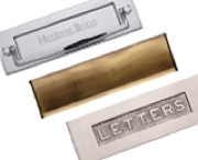 Heritage Brass Letter Plates And Letter Tidies