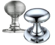 Polished Chrome Door Knobs