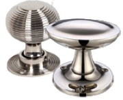 Polished Nickel Door Knobs