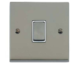 Satin Nickel Victorian Raised Plate
