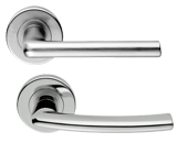 Serozzetta Door Handles On Rose