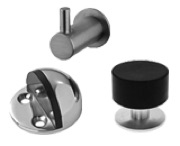 Stainless Steel Door Stops And Coat Hooks