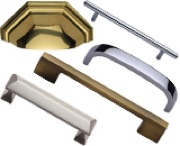 Heritage Brass Cabinet Pulls