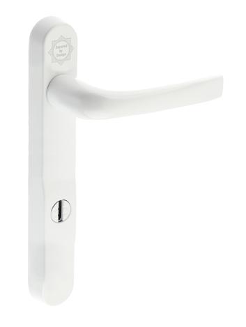 Mila \'ProSecure\' Lever/Lever Door Handles, 220mm Backplate - 92mm C ...