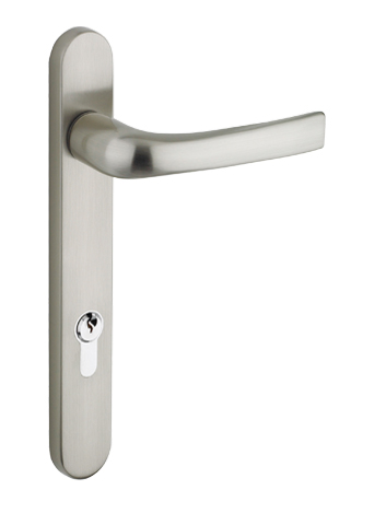 Mila \'ProLinea\' Lever/Lever Door Handles, 220mm Backplate - 92mm C/C ...