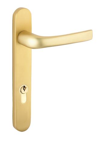 Mila \'ProLinea\' Lever/Lever Door Handles, 220mm Backplate - 92mm C/C ...