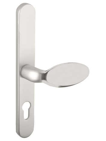 Mila \'ProLinea\' Lever/Pad Door Handles, 240mm Backplate - 92mm C/C ...