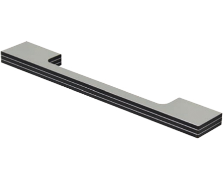 Hafele D Handle, 160mm or 320mm, Alu With High Pressure Laminate - 111.30.90D
