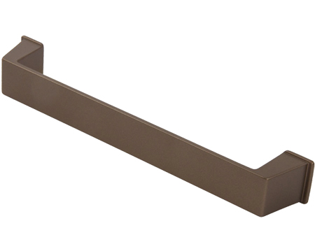 Hafele 'Duke' Pull Handle, 160mm, Light Bronze or Graphite - 111.34.DUK