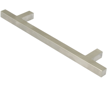 Hafele 'Metropolis' Bar Handle, 160mm, 192mm or 320mm, Satin Stainless Steel - 115.67.MEB