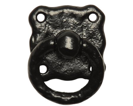 Kirkpatrick Black Antique Malleable Iron Cupboard Pull Handle - AB1192
