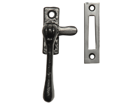 Kirkpatrick Black Antique Malleable Iron Casement Fastener - AB1193