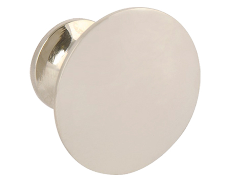 Hafele 'Imperial' Cupboard Knob, 38mm Or 45mm, Stainless Steel Effect, Polished Chrome Or Polished Nickel - 134.97.083