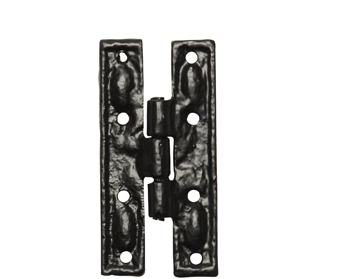 Kirkpatrick Black Antique Malleable Iron Cabinet Hinge (3.25 Inch) - AB1508 (sold in pairs)