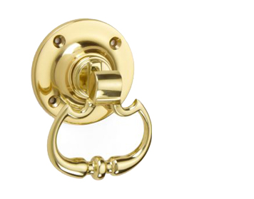 'Croft Architectural' Beaded Dutch Drop Ring Door Handles, *Various Finishes Available - 1717 (sold in pairs)