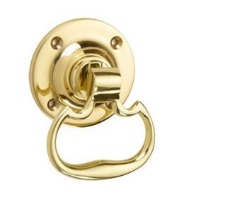 'Croft Architectural' Plain Dutch Drop Ring Door Handles, *Various Finishes Available - 1718 (sold in pairs)