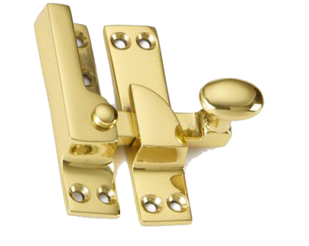 'Croft Architectural' Narrow Straight Arm Sash Fastener, Various Finishes Available* - 1762A
