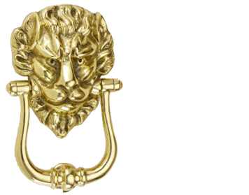 'Croft Architectural' Lion's Head Door Knocker, Various Finishes Available* - 1768