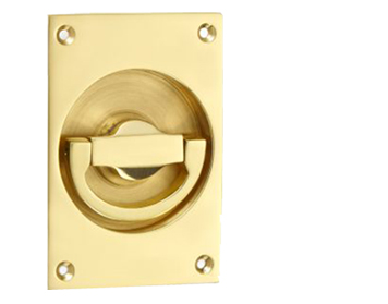'Croft Architectural' Flush Latch Ring Door Handles, *Various Finishes Available - 1804A (sold in singles)