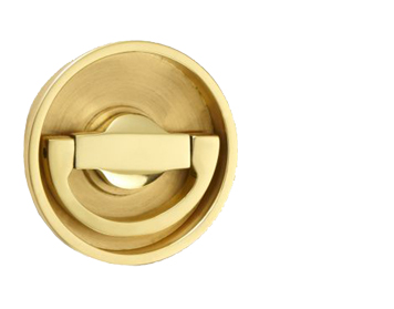'Croft Architectural' Flush Latch Ring Door Handles, *Various Finishes Available - 1804C (sold in singles)