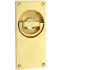 'Croft Architectural' Flush Latch Ring Door Handles, *Various Finishes Available - 1804L (sold in singles)
