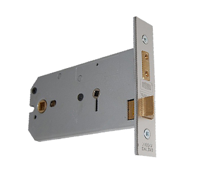 Union 'Horizontal' Bathroom Locks - Silver Or Brass Finish - 2026