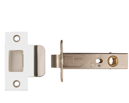 Excel Hardware 'Standard' or 'Privacy' 3.5 Inch Tubular Latches - Polished Chrome Finish - 2268-PSS