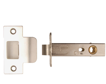 Excel 'Standard' or 'Privacy' 3.5 Inch Tubular Latches - Satin Chrome Finish - 2268-SSS