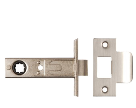Excel 'Renova' Mortice Latch (60mm Or 70mm Backset) - Polished Stainless Steel Or Satin Stainless Steel - 2274