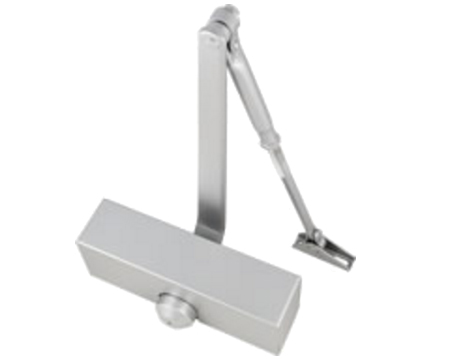Size 3 Overhead Door Closers With Covers, Polished Chrome, Satin Chrome, Polished Brass Or Silver - 2878