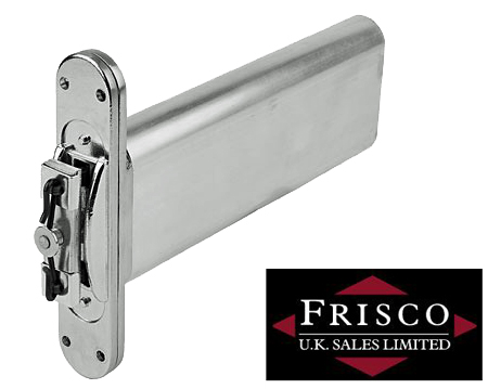 NU-MATIC DOOR CLOSERS, SATIN CHROME OR BRASS - 2897