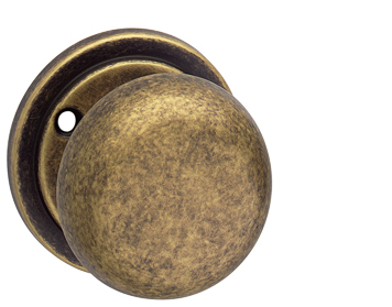 Ashworth Mortice Door Knobs, Antique Brass - 293-435-AB (sold in pairs)