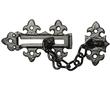 Kirkpatrick Black Antique Malleable Iron Door Chain (123mm x 76mm) - AB2967