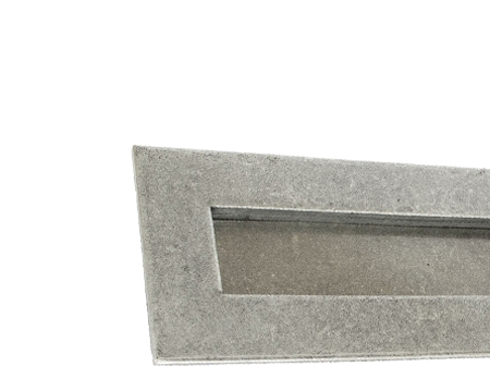 Small Letter Plate, Pewter - 33058
