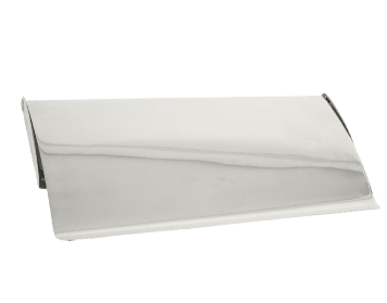 Small Cast Letter Plate Cover, Polished Chrome - 33063