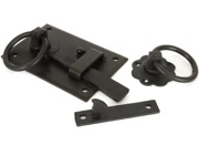 From The Anvil Left or Right Hand Cottage Latch (152mm x 103mm), Beeswax - 33147