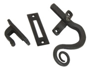From The Anvil Left Or Right Handed Monkeytail Window Fastener, Beeswax - 33185