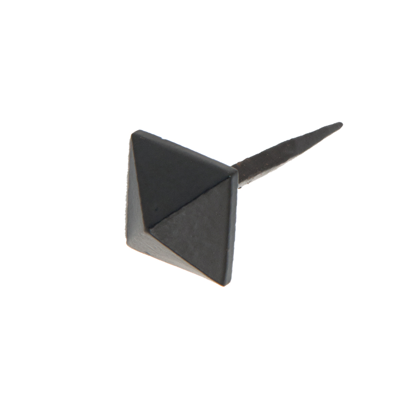 Pyramid Door Stud (15mm, 20mm Or 25mm), Black - 33193