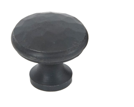 Beaten Cupboard Knob (20mm, 30mm Or 40mm), Beeswax - 33198