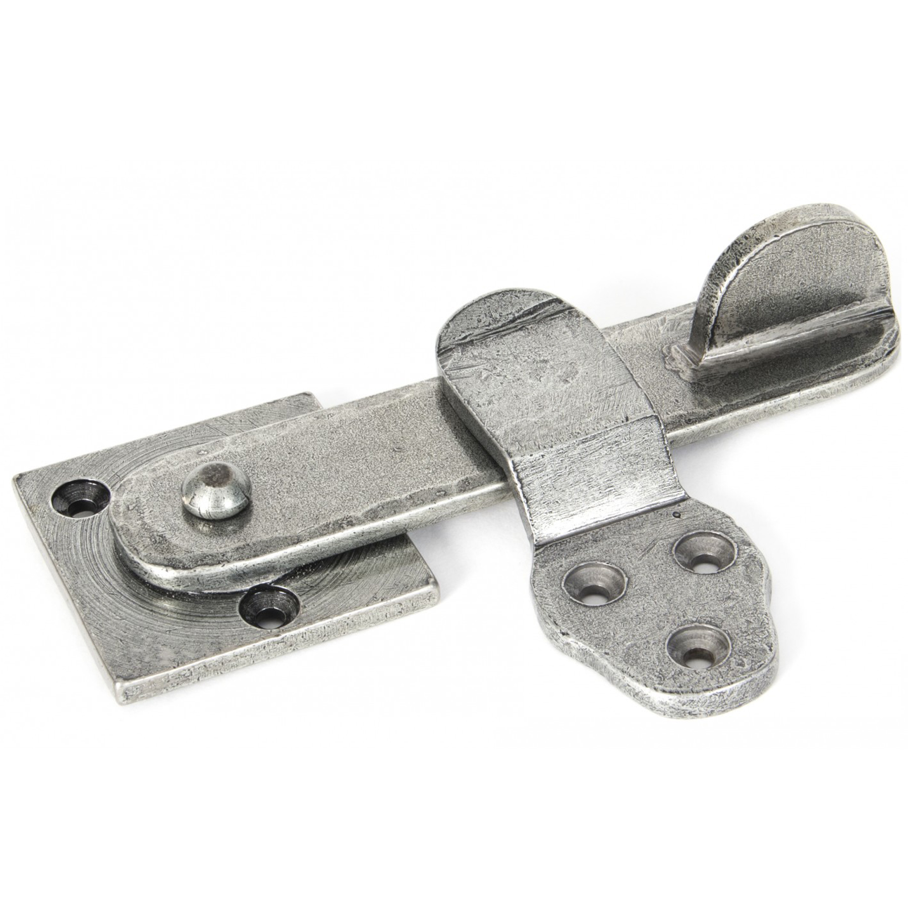 From The Anvil Patina Privacy Latch Set, Pewter - 33393