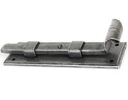 From The Anvil Straight Fishtail Door Bolt (4