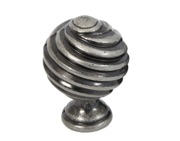 From The Anvil Twist Cabinet Knob (30mm), Pewter - 33691